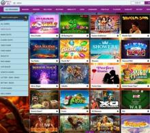 page jeux Magical Spin casino
